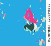 modern abstract vibrant... | Shutterstock .eps vector #1206545932