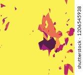 modern abstract vibrant... | Shutterstock .eps vector #1206545938