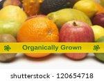Closeup Of Organically Grown...