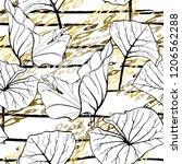 tropical  stripe  animal motif. ...   Shutterstock .eps vector #1206562288