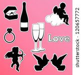 Collection Of Vector Valentine...