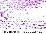 light purple vector texture in...   Shutterstock .eps vector #1206615412