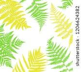 vector green background with... | Shutterstock .eps vector #1206624382