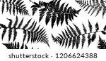 vector green background with... | Shutterstock .eps vector #1206624388