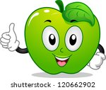Mascot Illustration Of A Green...