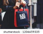 black friday  elegant rich... | Shutterstock . vector #1206659335