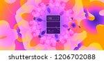 luid color background. liquid... | Shutterstock .eps vector #1206702088