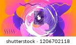 luid color background. liquid... | Shutterstock .eps vector #1206702118