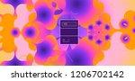 luid color background. liquid... | Shutterstock .eps vector #1206702142