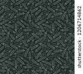 black board. seamless endless... | Shutterstock .eps vector #1206714862