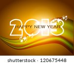 happy new year 2013 design with ... | Shutterstock .eps vector #120675448