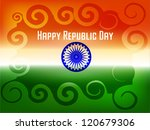 republic day card design in... | Shutterstock .eps vector #120679306