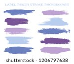 minimal label brush stroke... | Shutterstock .eps vector #1206797638