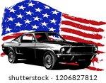 vector graphic design...   Shutterstock .eps vector #1206827812
