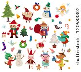 christmas season theme | Shutterstock .eps vector #120683302