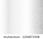 halftone background. fade... | Shutterstock .eps vector #1206871048