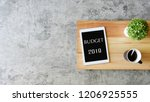 Budget 2019 Business Concept