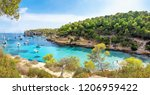 panoramic view at the coastline ... | Shutterstock . vector #1206959422