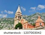 church in montenegro   Shutterstock . vector #1207003042