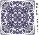 azulejos   portuguese tiles...   Shutterstock .eps vector #1207017952