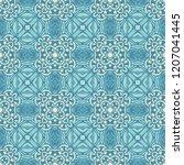 gorgeous seamless patchwork...   Shutterstock .eps vector #1207041445