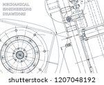 cover  flyer. vector... | Shutterstock .eps vector #1207048192