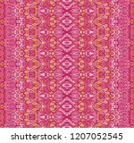 pink striped abstract geometric ...   Shutterstock .eps vector #1207052545