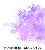 abstract spots ultraviolet and... | Shutterstock . vector #1207077508