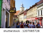 brasov  romania  may 05  2018 ... | Shutterstock . vector #1207085728
