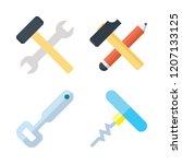 screw icon set. vector set...   Shutterstock .eps vector #1207133125