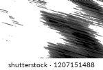 black and white grunge pattern... | Shutterstock . vector #1207151488