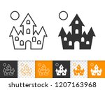Dracula House Black Linear And...