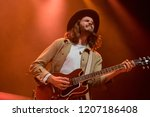 Small photo of OAKLAND, CA - OCTOBER 16, 2018: Hudson Taylor in concert at The Fox Theater in Oakland, CA