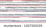 color strips. seamless.... | Shutterstock .eps vector #1207203235