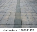 look down at thailand footpath...   Shutterstock . vector #1207311478
