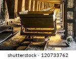old coal mine wagon | Shutterstock . vector #120733762