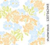 abstract elegance seamless... | Shutterstock .eps vector #1207362445