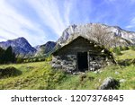 A Small Empty And Abandoned Hut