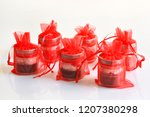 christmas candles and lights | Shutterstock . vector #1207380298