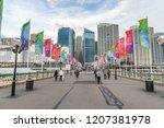 sydney  australia   august 19 ... | Shutterstock . vector #1207381978