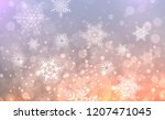 christmas background with... | Shutterstock .eps vector #1207471045