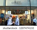 new york  usa   may 30  2018 ... | Shutterstock . vector #1207474132