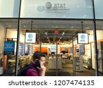 new york  usa   may 30  2018 ... | Shutterstock . vector #1207474135
