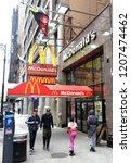 new york  usa   may 27  2018 ... | Shutterstock . vector #1207474462