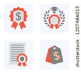 vector icons for web sites.... | Shutterstock .eps vector #1207486015