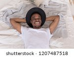 young african american man in a ...   Shutterstock . vector #1207487518