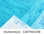 clear water in spa pool | Shutterstock . vector #1207502248