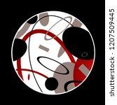 abstraction sport energy... | Shutterstock .eps vector #1207509445