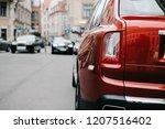 riga  october 2018   the rolls... | Shutterstock . vector #1207516402