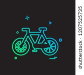 sports icon design vector | Shutterstock .eps vector #1207525735
